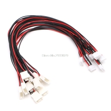Buy 10Pcs JST-XH Plug 3S Lipo Balance Wire Extension Lead 30cm RC Car Boat Plane Accessories -B116 for $3.04 in AliExpress store