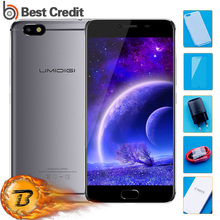 "Umidigi C Note Android 7.0 Metal Cell Phone Fingerprint Mobile Phone 5.5"" FHD 13MP MTK MT6737T 3GB RAM 32GB ROM 3800Mah 4G Phone"