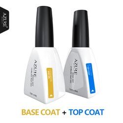 Лазурная красота основа верхнее покрытие УФ гель для ногтей длинное прочное основание основа для ногтей пальто Замачивание от грунтовка дл...