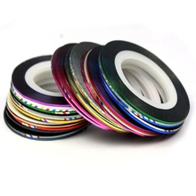 2016 Fashion 30 Color Rolls Striping Tape Line Nail Art Decoration Sticker Brand New nail art decorations nail stiker