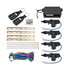 Auto car remote central Locking car Alarm system security Kit Remote 4 Door Keyless Entry System 360 Degree Rotation car kit(China)