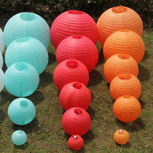 10pcs Graduation 14''(35cm) Chinese paper lantern home and party decoration wedding favors Festive Supplies 20 colors ZL5379(China)
