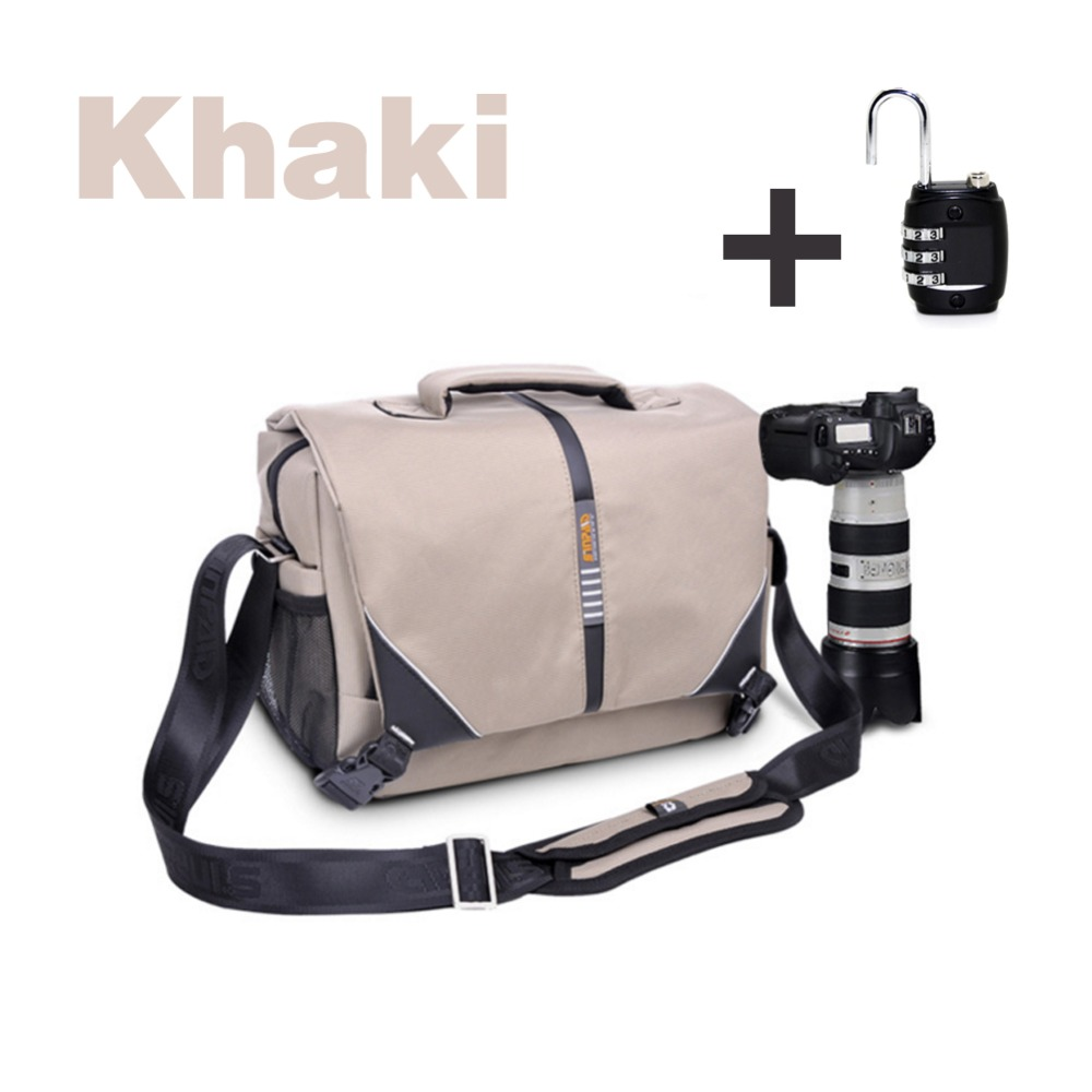 Sinpaid Oxford High Quality Waterproof Sports Bag SLR Camera Shoulder Bag Travel Outdoor Messenger Bag for Canon For Nikon<br><br>Aliexpress