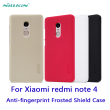 Buy Xiaomi redmi note 4 Frosted Shield Case Nillkin Frosted Shield case hard Back cover protective case Anti-fingerprint case for $7.19 in AliExpress store