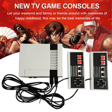 Retro Childhood Mini TV Handheld Video Game Console For Nes Games Built-in 500 Different Games PAL+NTSC dual gamepad Mini Family