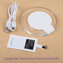 QI Charging Pad Wireless Charger Charging for Google Nexus 6 7 MOTOROLA NOKIA LG SAMSUNG GALAXY S8 Edge Plus S7 S8 Edge / Note 5