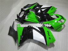 100% fit for Kawasaki Ninja fairings 250r 2008 2009 2010-2014 injection molding EX250 08-14 green black fairing kit ZX250 NZ10