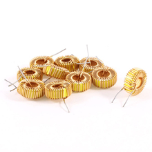 WSFS Hot Sale 10 Pcs Toroid Core Inductor Wire Wind Wound 47uH 38mOhm 3A Coil
