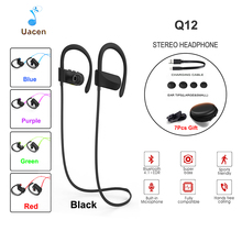 Buy Q12 Bluetooth Headphones Wireless Earbuds Stereo Sports Noise Cancelling Earphones Mic iPhone Android Samsung Xiaomi for $15.19 in AliExpress store