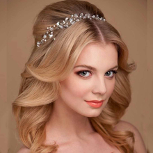2017 Hair Jewelry Summer Bridal Hair Accessories New Tiara Head Piece Fashion Hair Pins Wholesale Bridal Tiaras Crowns Headbands