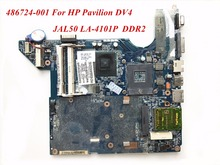 486724-001 For HP Pavilion DV4 Laptop Motherboard JAL50 LA-4101P DDR2 High Quality&Wholesale&100% Tested(China)