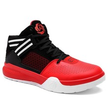 Men Basketball Shoes 2017 Professional Cushioning Wear-Resisting Basketball Shoes Women Ankle Boots Anti-slip Sneakers size 11(China)