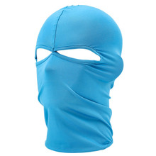 Unisex Outdoor Cycling Riding Sun Protection Dustproof Breathe Freely Lycra Two Holes Neck Full Face Mask Bicycle Equipment M10(China)