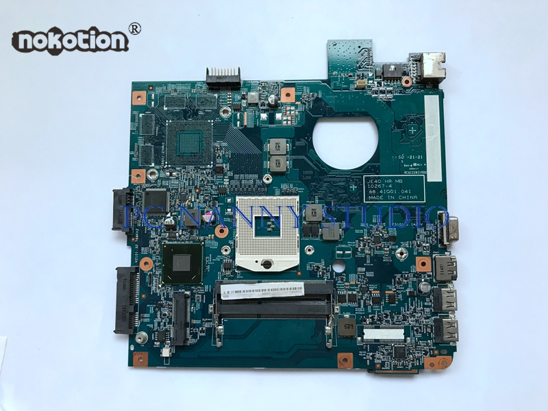 NOKOTION MBRPT01001 S989 HM65 10267-4 48.4IQ01.041 for Acer Aspire 4750 4752 motherboard laptop Mainboard Fully Test
