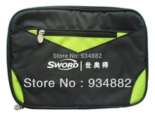 Sword 10-3 Green / Black Pro Table Tennis (Ping Pong) Paddle Bag
