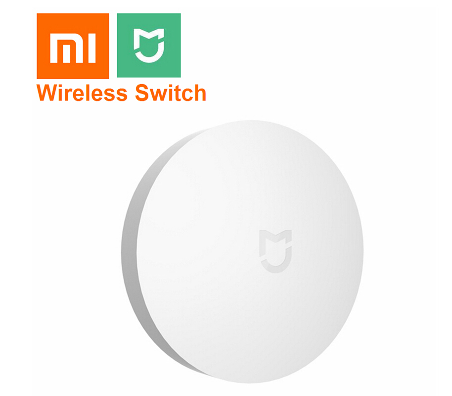 Xiaomi Mijia Portable Small Size Wireless Switch House Control Center Intelligent Multifunction Smart Home Device Use Mihome App