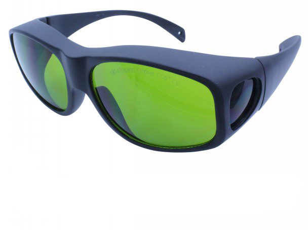 Laser safety glasses for 190-470 &amp; 800-1700nm O.D 5+ CE certified 266 441.6 1064 808nm, 810nm 904, 980nm, 1510nm  1530nm,1610nm<br>