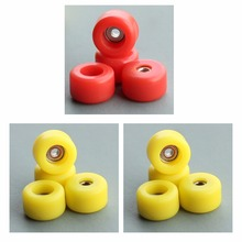 12PCS/Lot bearing wheels for professional wooden finger skateboard fingerboard board toys(China (Mainland))