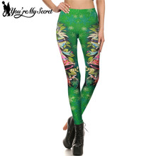 Buy You're Secret Christmas Tree Bolls Green Workout Leggings Women Autumn Fitness 3D Print Christmas Leggins Women Winter Pant for $7.19 in AliExpress store