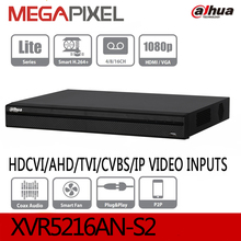 Buy Dahua penta-brid XVR XVR5216AN-S2 XVR5232AN-S2 1080P Digital Video recorder HDCVI/AHD/TVI/CVBS/IP camcorder cctv video nvr dvr for $228.96 in AliExpress store