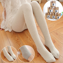 Buy 2016 Autumn Winter Women Tights 5 Colors Styles Sexy Women Cotton Pantyhose Foot Female stockings Black Gray Slim Tights