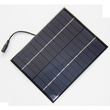 New 5.2W 12V Solar Cell + DC Polycrystalline Solar Panel DIY Solar Power/Battery Charger For 9V Battery 165*210MM High Quality
