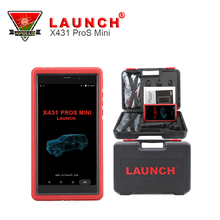 Two Years Free Update OBDII Scanner Launch X431 Pros Mini Replace X431 Diagun III or X431 IV With Fuel Injector Coding