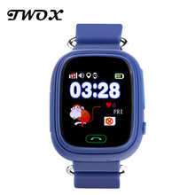 TWOX Q90 GPS baby smart watch phone wifi location tracker children safe sos call safe anti-lost monitor device pk q50 q80 q750(China)