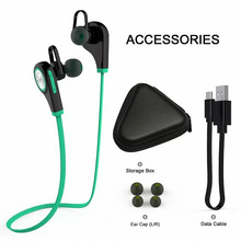 Wireless Bluetooth 4.1 Earphones Sports Headset Music Stereo Earbud headphone with Mic for Iphone Samsung Xiaomi smart watch A1(China)