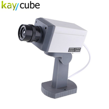 Dummy Realistic Looking Fake Camera Security Motion Detection Sensor Plastic Fake Security CCTV Camera(China)