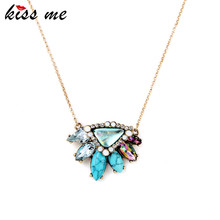 Pendant Necklace New Look Hot Sale Multicolor Perfume Women Brand Jewelry Factory Wholesale(China)