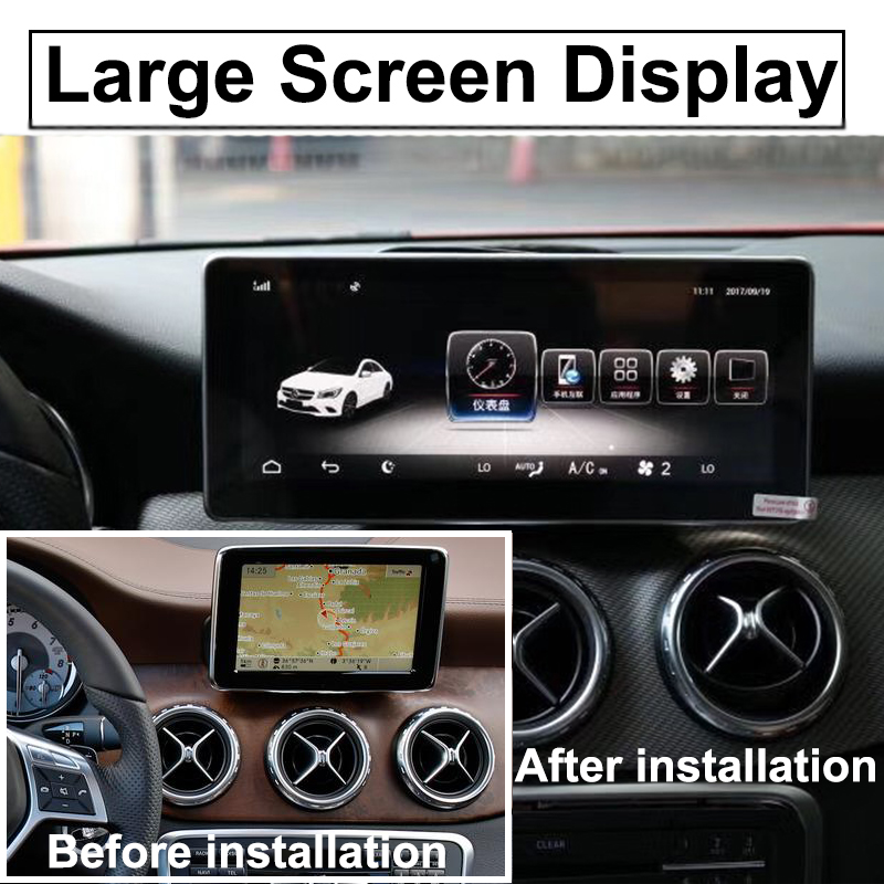 Liislee Car Multimedia Player NAVI For Mercedes Benz MB GLA Class X156 2014~ 2018 Car Radio Stereo GPS Navigation (6)