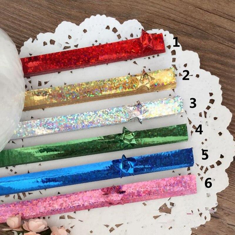 100 tiras de papel Encañonado 5mm Ancho-Marrón Chocolate