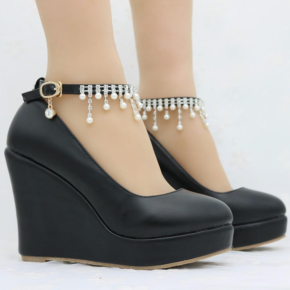 Detail Feedback Questions about 11cm women Elegant heels wedges ... e26caaa474ee