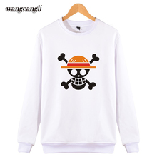 2017 West Coast ONE PIECE Casual Men/Women Capless Japan Classic Anime Luffy Sweatshirt Hoodies Cool Spring Clothes Plus Size