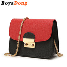 RoyaDong 2017 Women Messenger Bags Women's Handbags Small Chains Designer Cute Lady's Crossbody Bags For Women Candy Color