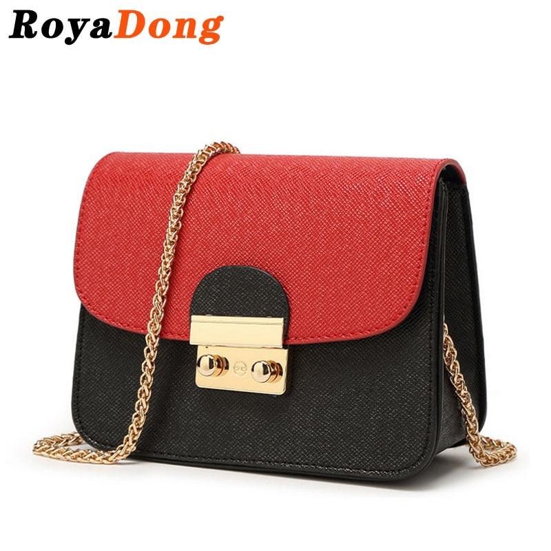 RoyaDong 2017 Women Messenger Bags Womens Handbags Small Chains Designer Cute Ladys Crossbody Bags For Women Candy Color<br><br>Aliexpress