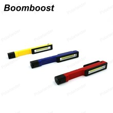Boomboost Work Light Waterproof Plastic Lamp With Magnet Pencil Light led flashlight Outdoor Camping Light led light