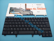 Free Shipping NEW French(Azerty) keyboard For DELL Latitude E6420 E6430 E6430S E6440 E5420M xt3 laptop French keyboard