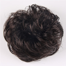 4 Colors Girl Modern Hairband Korean Style Synthetic Wig Elastic Hair Band Fashion Women Hairpiece Accessories PY025