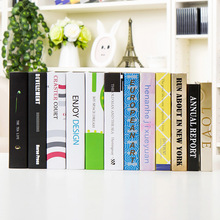 manufacturers selling fake book office decoration Home Furnishing Book bookcase Cafe ornaments wholesale book props wall dies(China)