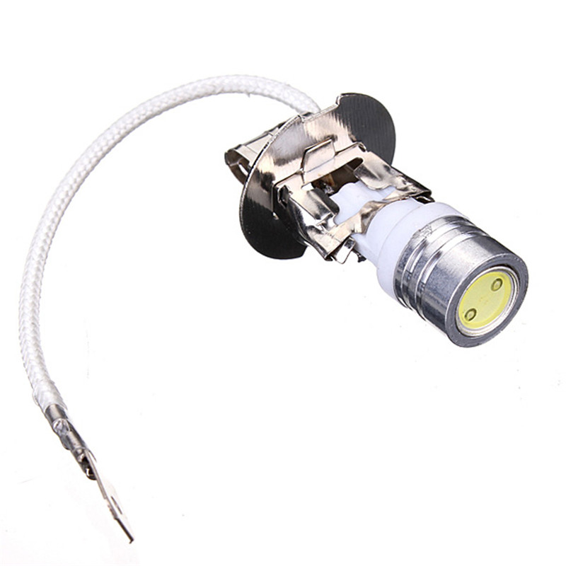 Lowest Price 1W For HID Xenon White Car H3 High Power LED Fog Light Headlight Lamp Bulb DC12V<br><br>Aliexpress