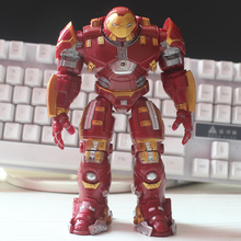 Super Heroes Iron Man Hulkbuster PVC Action Figure Toys 17 CM