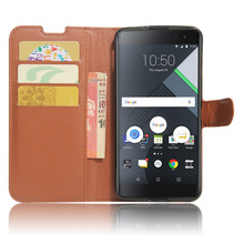 Luxury Litchi Texture Leather Case for BlackBerry DTEK60 Flip Cover Case Wallet Stand Style Magnetic Protective Shell