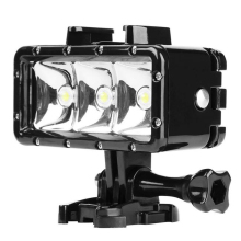 Buy Waterproof LED Diving Light Gopro Hero 5 3 4 Session h9 SJCAM SJ4000 Snorkel Light Underwater Xiaomi Yi 4K Accessories for $18.94 in AliExpress store