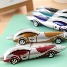 New Cute Kawaii Plastic Car Ballpoint Pen Novelty Ball Pen Creative Items Products Gift Korean Stationery Free shipping(China)