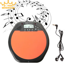 Digital Electric Electronic Drum Pad for Training Practice Metronome(China)