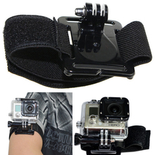 Buy Go pro Accessories Adjustable Wrist Strap Arm Belt Mount Xiaomi Yi GoPro Hero 6 5 4 3 SJCAM SJ4000 SJ7000 Action Camera for $1.50 in AliExpress store