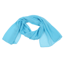 New Great Scarf Fashion Chiffon Scarf for Girl Woman white(China)