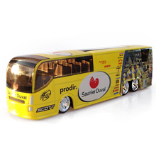 Tour de France Spanish Saunier Duval Team 1/50 Scale Diecast Bus Models Toys Collections